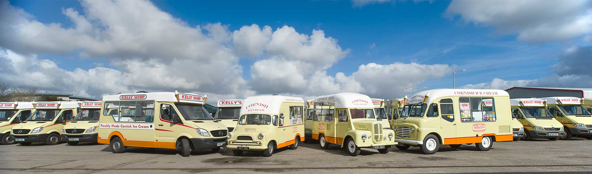 Kellys Ice Cream Vans of Bodmin, Cornwall